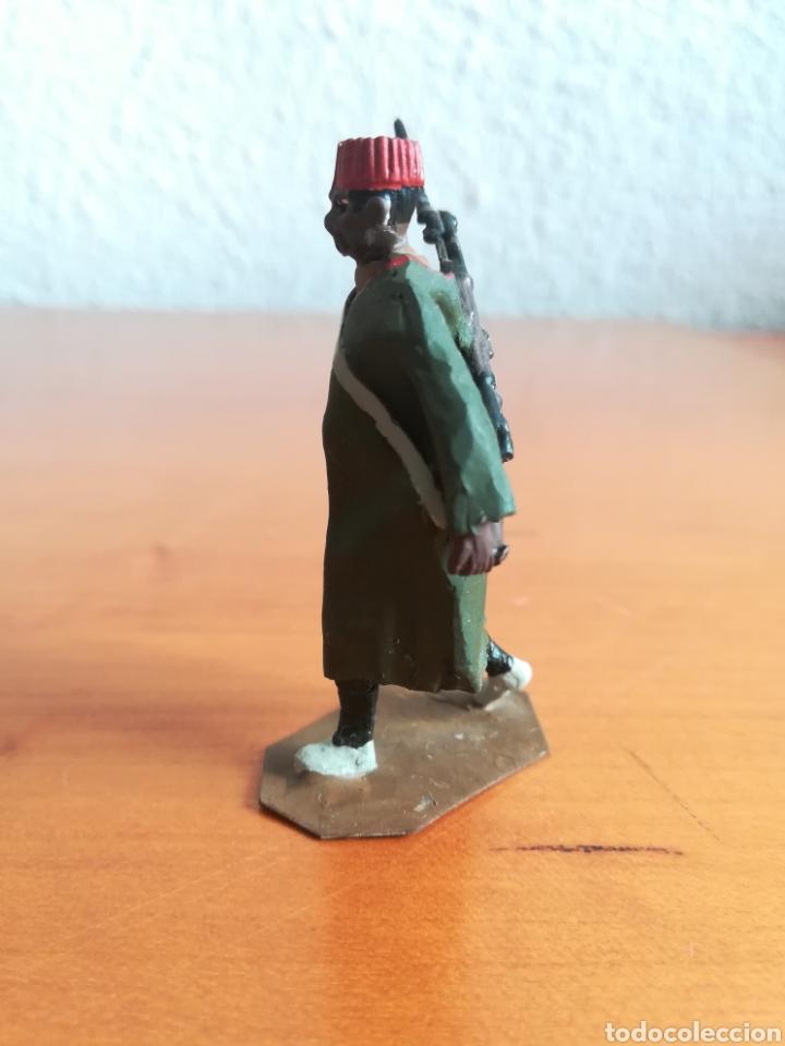 Juguetes Antiguos: Antiguo soldadito plomo Tropas Regulares Marruecos Indígenas Guerra Civil Española Tabor Miniatura - Foto 7 - 137564114