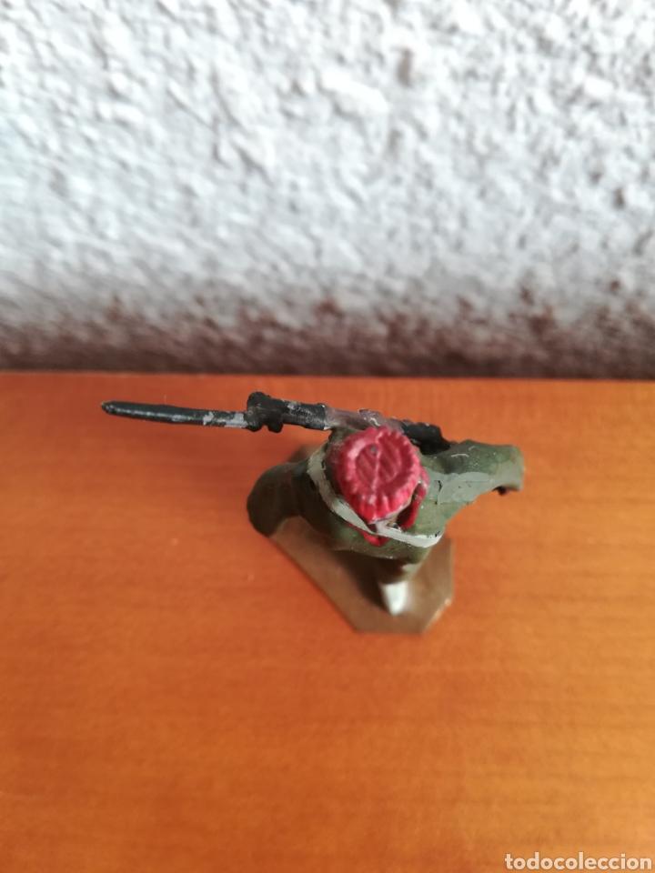 Juguetes Antiguos: Antiguo soldadito plomo Tropas Regulares Marruecos Indígenas Guerra Civil Española Tabor Miniatura - Foto 9 - 137564114