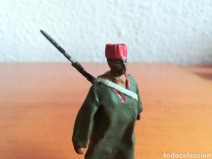 Juguetes Antiguos: Antiguo soldadito plomo Tropas Regulares Marruecos Indígenas Guerra Civil Española Tabor Miniatura - Foto 10 - 137564114