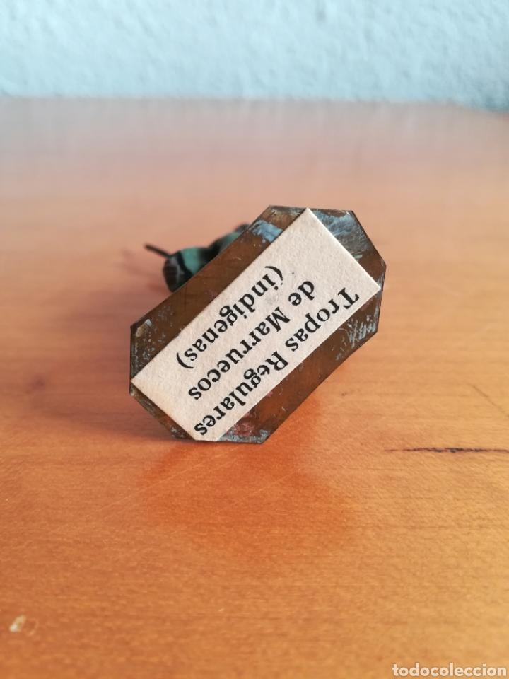 Juguetes Antiguos: Antiguo soldadito plomo Tropas Regulares Marruecos Indígenas Guerra Civil Española Tabor Miniatura - Foto 11 - 137564114