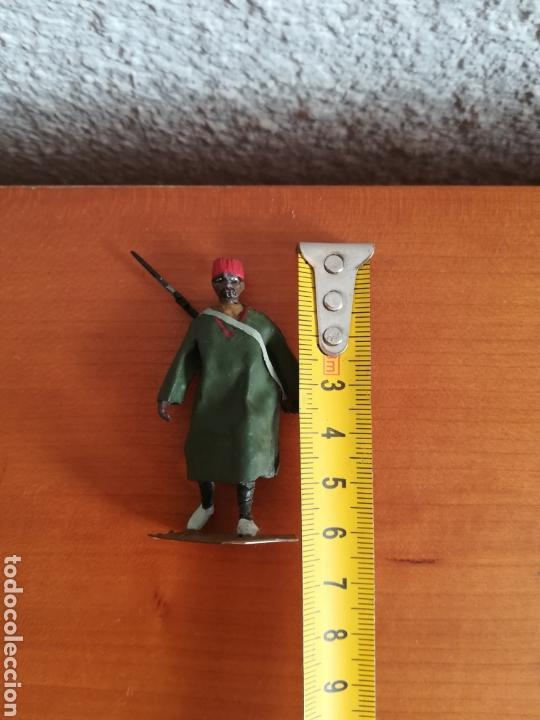 Juguetes Antiguos: Antiguo soldadito plomo Tropas Regulares Marruecos Indígenas Guerra Civil Española Tabor Miniatura - Foto 12 - 137564114