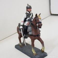 Jeux Anciens: KURASSIER RUSIA 1870 SOLDADO DE PLOMO A CABALLO DEA BY CASSANDRA. Lote 140127834