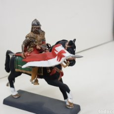 Juguetes Antiguos: SOLDADO DE PLOMO A CABALLO USAR CON ESTANDARTE POLONIA 1683 DEA BY CASSANDRA. Lote 140132173