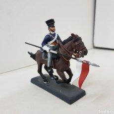 Juguetes Antiguos: LANCERO DEL 17 REGIMIENTO UK 1854 DEA BY CASSANDRA. Lote 140135864