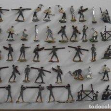 Juguetes Antiguos: 40 SOLDADITOS SOLDADOS DE PLOMO ALEMANES ANTIGUOS EJERCITO ALEMÁN 1916 FABRICADOS EN ALEMANIA 1930 . Lote 140803402