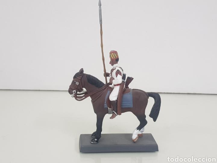 Juguetes Antiguos: Soldado de plomo a caballo colonial penna di Falco Italia 1898 DEA by Cassandra - Foto 2 - 141903812
