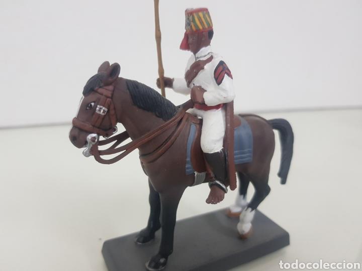 Juguetes Antiguos: Soldado de plomo a caballo colonial penna di Falco Italia 1898 DEA by Cassandra - Foto 3 - 141903812