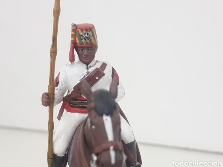Juguetes Antiguos: Soldado de plomo a caballo colonial penna di Falco Italia 1898 DEA by Cassandra - Foto 5 - 141903812