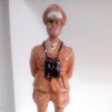 Juguetes Antiguos: FIGURA DE PLOMO DEL MARISCAL ERWIN ROMMEL.. Lote 142020057