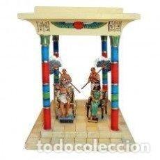 Juguetes Antiguos: TEMPLO EGIPCIO. MARCA: DEL PRADO. NUEVO EN SU BLISTER ORIGINAL. COLECCIÓN ANTIGUO EGIPTO. Lote 142263918
