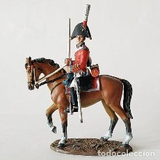 Juguetes Antiguos: SOLDADO DE PLOMO 54 MM - OFICIAL BRITANICO DE DEL 5º REG DRAGONES - NAPOLEONICO FIGURA SOLDADITO. Lote 268611254