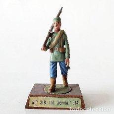 Juguetes Antiguos: PRIMERA GUERRA MUNDIAL 54 MM - ALYMER - FIGURA PLOMO SOLDADITO MINIATURA 54MM GRAN GUERRA. Lote 143269290
