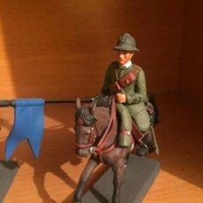 Juguetes Antiguos: LANCERO DE NOVARA ITALIA 1917 - COLECCIÓN SOLDADOS A CABALLO. Lote 143913334