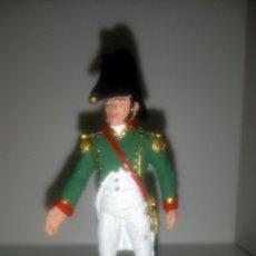 Juguetes Antiguos: SOLDADO DE PLOMO ESPAÑA 1808. OFICIAL DE INFANTERÍA LIGERA. COLECCIÓN NAPOLEÓNICOS SOLDAT.. Lote 144527024