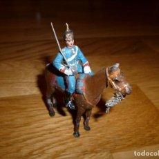 Juguetes Antiguos: SOLDADOS DE PLOMO TEO OFICIAL DE LANCEROS FIGURAS PALOMEQUE EULOGIO CASANELLAS. Lote 144641514