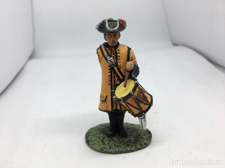 SOLDADO DE PLOMO TAMBOR DE DRAGONES 1781 (Juguetes - Soldaditos - Soldaditos de plomo)