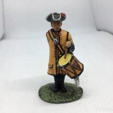 Juguetes Antiguos: SOLDADO DE PLOMO TAMBOR DE DRAGONES 1781. Lote 145004794