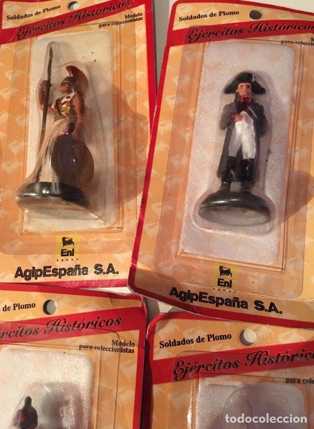 Juguetes Antiguos: Soldados de plomo ejércitos históricos AGIP - Foto 2 - 145221792