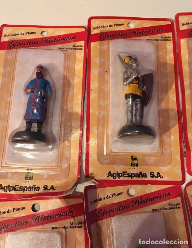 Juguetes Antiguos: Soldados de plomo ejércitos históricos AGIP - Foto 3 - 145221792