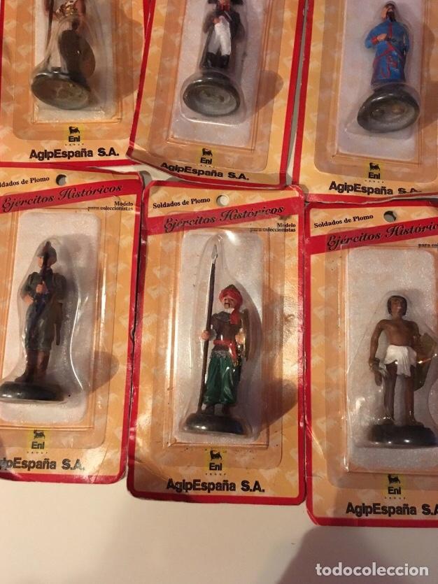 Juguetes Antiguos: Soldados de plomo ejércitos históricos AGIP - Foto 5 - 145221792