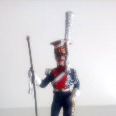 Juguetes Antiguos: SOLDADO DE PLOMO FRANCIA 1808. LANCERO POLACO. COLECCIÓN NAPOLEÓNICOS SOLDAT.. Lote 145396276