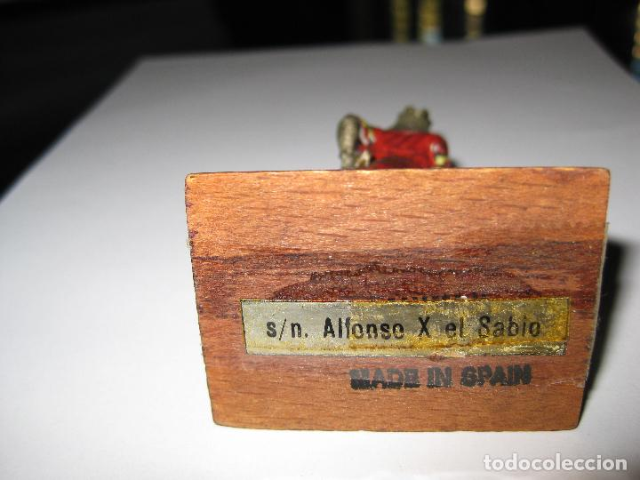 Juguetes Antiguos: ALFONSO X EL SABIO - ALYMER - 54mm - Foto 3 - 145584362