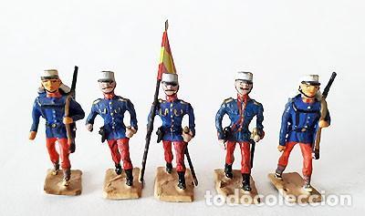 Juguetes Antiguos: SOLDADO DE PLOMO 30 MM - FORMACION ESPAÑOLA - FIGURA SOLDADITO 30 MM MINIATURA - Foto 2 - 146728926