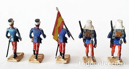 Juguetes Antiguos: SOLDADO DE PLOMO 30 MM - FORMACION ESPAÑOLA - FIGURA SOLDADITO 30 MM MINIATURA - Foto 4 - 146728926