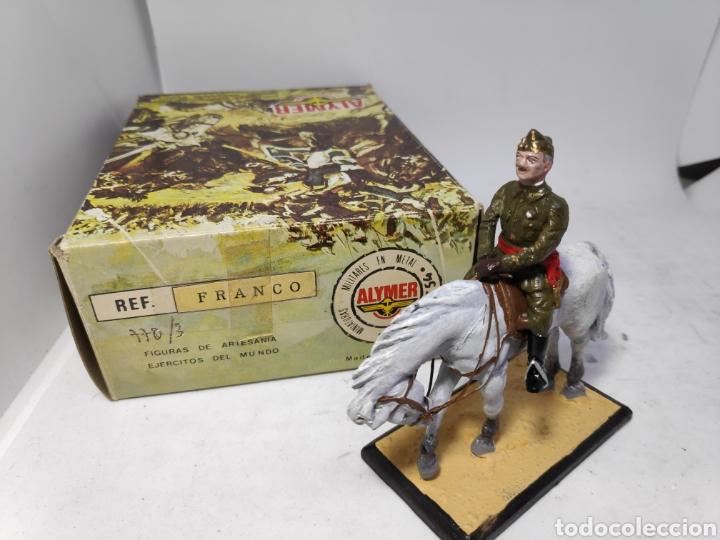 ALYMER CABALLERIA FRANCO 770/3 SOLDADO DE PLOMO E.1/54MM (Spielzeug - Soldaten - Zinnsoldaten)