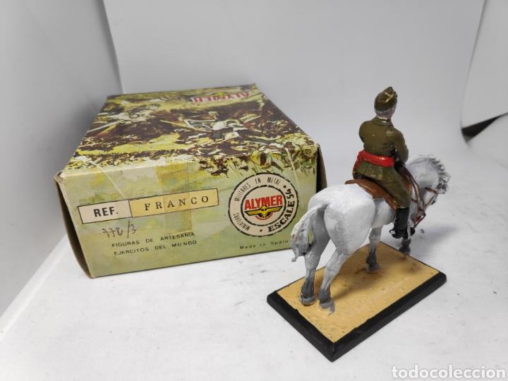 Altes Spielzeug: ALYMER CABALLERIA FRANCO 770/3 SOLDADO DE PLOMO E.1/54MM - Foto 2 - 147765985