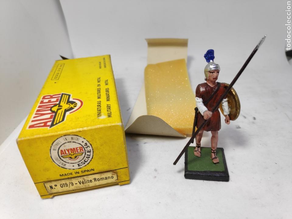 ALYMER VELITE ROMANO 019/9 SOLDADO DE PLOMO E.1/54MM (Spielzeug - Soldaten - Zinnsoldaten)