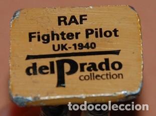Juguetes Antiguos: FIGURA PLOMO PILOTO DE LA RAF . REINO UNIDO 1940 . 2ª GUERRA MUNDIAL - Foto 3 - 147786902