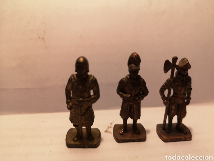 Juguetes Antiguos: LOTE DE 8 FIGURITAS DE METAL, DIFERENTES, SCAME, SWISS.... VER FOTOS. - Foto 7 - 148204484