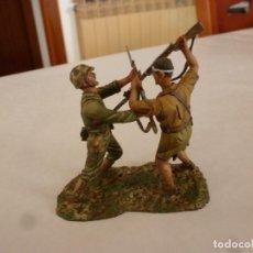 Juguetes Antiguos: !!!GUADALCANAL CUERPO A CUERPO !!!MARINES U.S.A. Y EJERCITO IMPERIAL JAPONÉS-(1/30(60MM). Lote 148893226