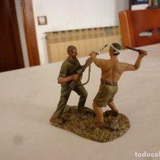 Juguetes Antiguos: !!!GUADALCANAL CUERPO A CUERPO !!!MARINES U.S.A. Y EJERCITO IMPERIAL JAPONÉS-(1/30(60MM). Lote 148893334