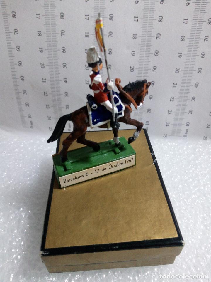 Juguetes Antiguos: Guardia urbano barcelona a caballo Almirall edicion especial congreso municipios 1967 con su cajita - Foto 4 - 149371598