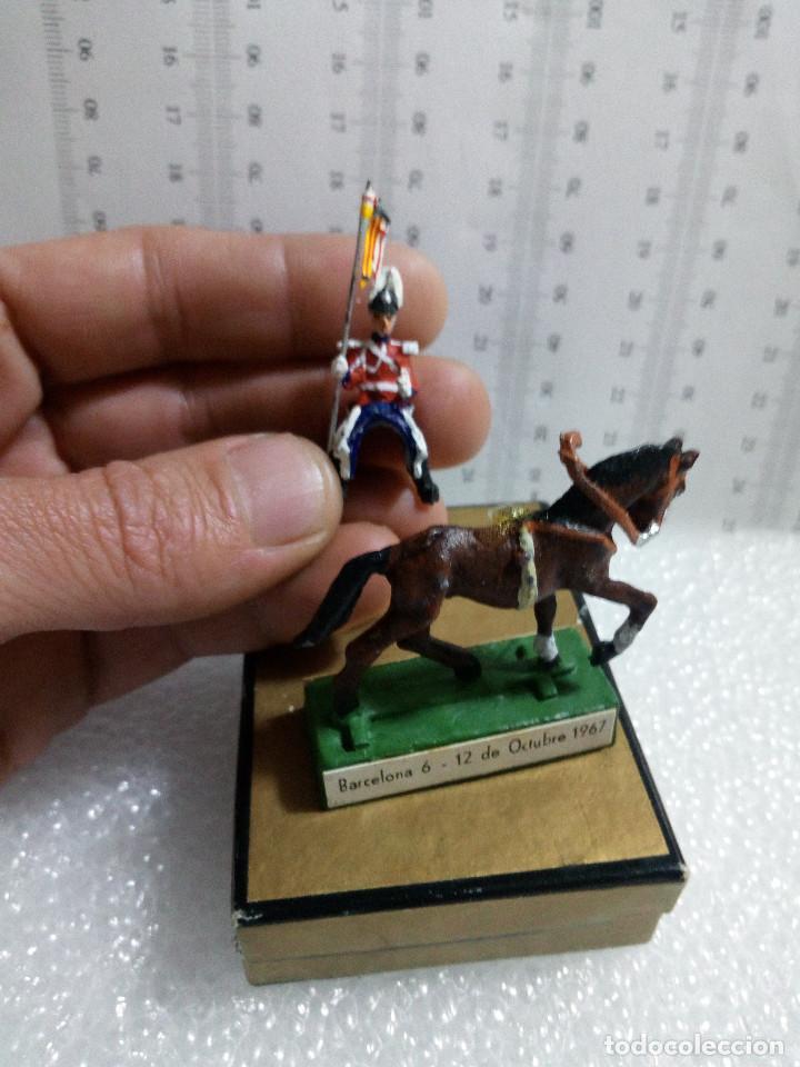 Juguetes Antiguos: Guardia urbano barcelona a caballo Almirall edicion especial congreso municipios 1967 con su cajita - Foto 6 - 149371598