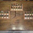 Juguetes Antiguos: LOTE DE 30 SOLDADOS DE PLOMO MEDIEVALES - EN SUS PEANAS DE MADERA - ALTAYA - . Lote 150128254