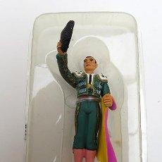 Juguetes Antiguos: FIGURA TORERO DE PLOMO 1/32 SALUDO DESDE LOS MEDIOS. LANCES DEL TOREO DE ALTAYA. NUEVO. Lote 151874346