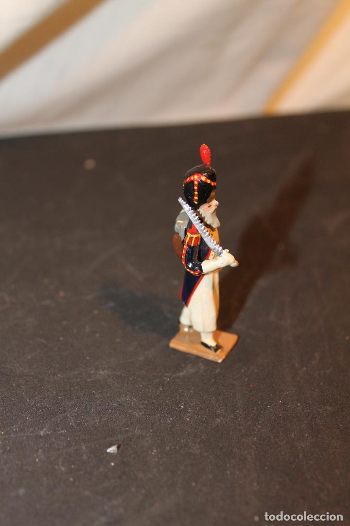 Juguetes Antiguos: SOLDADO DE PLOMO DE, 5 CM, PINTADO A MANO, VER FOTOS - Foto 2 - 152814081
