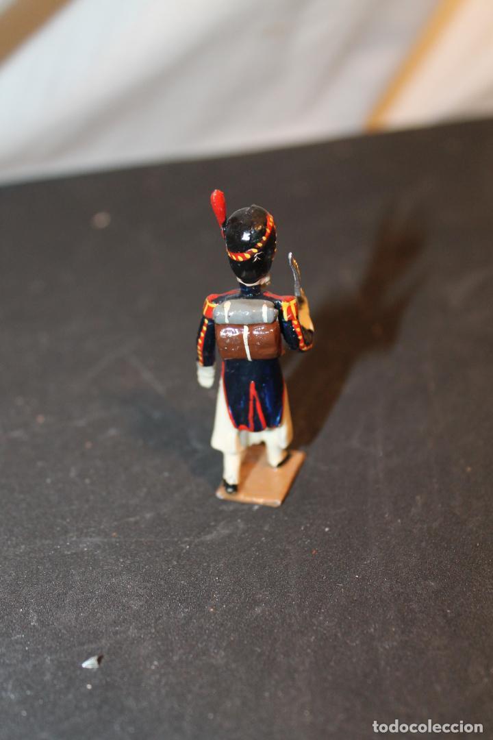 Juguetes Antiguos: SOLDADO DE PLOMO DE, 5 CM, PINTADO A MANO, VER FOTOS - Foto 3 - 152814081
