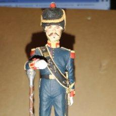 Juguetes Antiguos: SOLDADO DE PLOMO PINTADO A MANO BATALLONES DE MARINA TAMBOR MAYOR 1857 MINISTERIO DE DEFENSA ESPAÑA. Lote 153182120