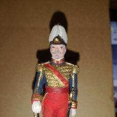 Juguetes Antiguos: SOLDADO DE PLOMO MINISTERIO DE DEFENSA CAPITÁN GENERAL DEL EJÉRCITO DE ESPAÑA 1842. Lote 153186492