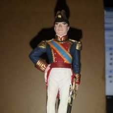Juguetes Antiguos: SOLDADO DE PLOMO PINTADO A MANO MINISTERIO DEFENSA CAPITÁN GENERAL DE LA MARINA ESPAÑOLA 1842. Lote 153188581