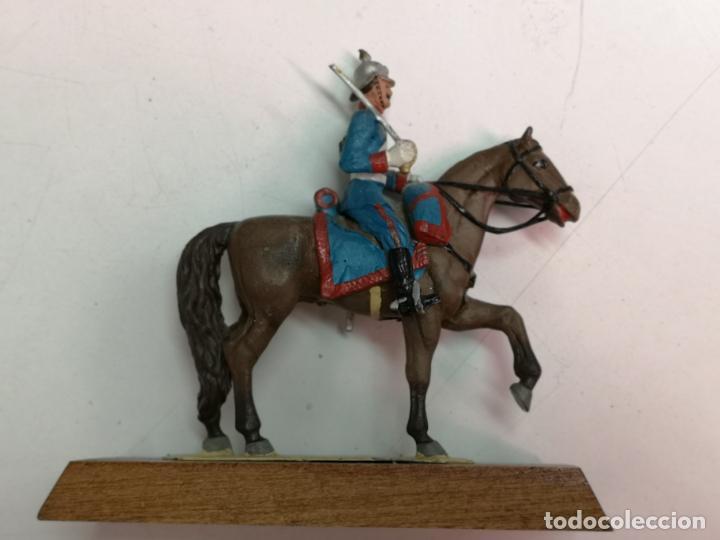 Altes Spielzeug: LANCERO DE PLOMO ALYMER 54MM. - Foto 3 - 154412562