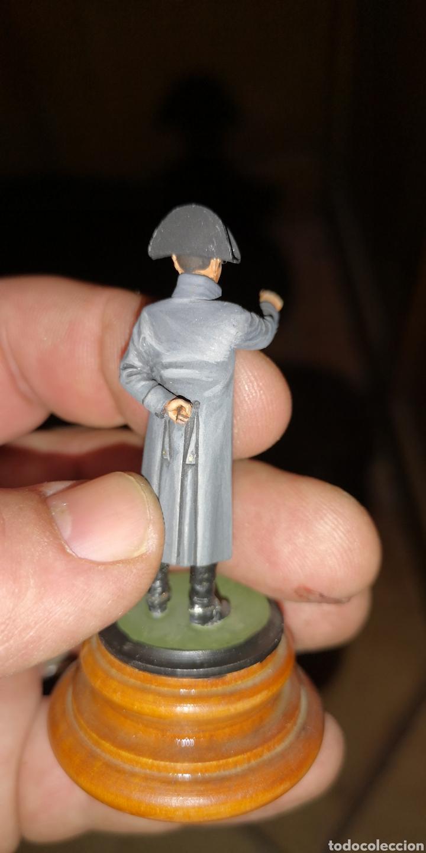 Juguetes Antiguos: Soldado de plomo pintado artesanalmente a mano representando a Napoleón - Foto 3 - 155011722