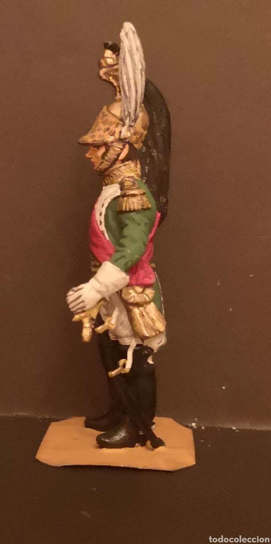 Juguetes Antiguos: Soldado de plomo pintados a mano napoleónico general de dragones - Foto 2 - 155856370