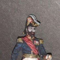 Juguetes Antiguos: SOLDADO DE PLOMO PINTADOS ARTESANALMENTE REPRESENTA GENERAL ÉPOCA NAPOLEÓN TERCERO. Lote 155880784