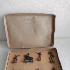 Juguetes Antiguos: SOLDADOS DE PLOMO AGUSTIN TEIXIDO EN CAJA SIN JUGAR DIFICILISIMO DE ENCONTRAR. Lote 155962786