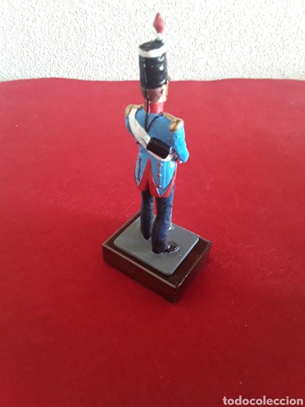 Juguetes Antiguos: Soldado de plomo caballería ligera España 1825 1835 - Foto 2 - 156518400